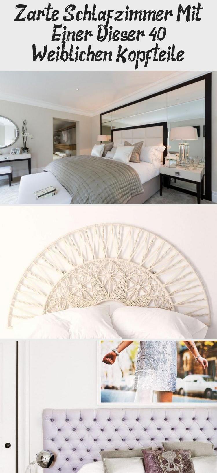 Zarte Schlafzimmer Mit Einer Dieser 40 Weiblichen Kopfteile