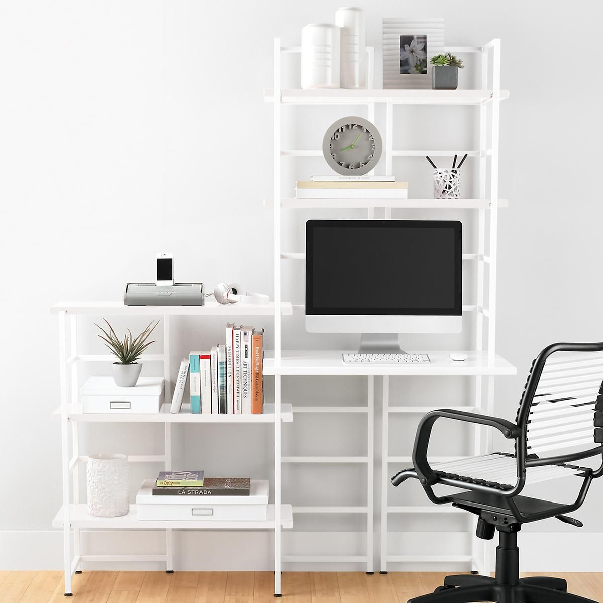 Our Connections Shelving system is inspired by the elegantly simple lines of traditional Asian design.  Simply combine Connections Uprights with Connections Shelves to create a solution that suits your needs.  From the home office to the den, this system offers easy, convenient storage anywhere you need it.  Assembly is a cinch - the shelves feature grooves which fit onto the uprights.