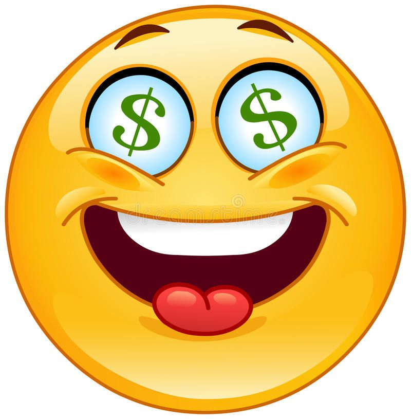 Dollar Emoticon Cheerful Emoticon Having Dollar Signs In His Eyes Aff Cheerful Emoticon Dollar Eyes Signs In 2020 Funny Emoticons Smiley Emoticons Emojis