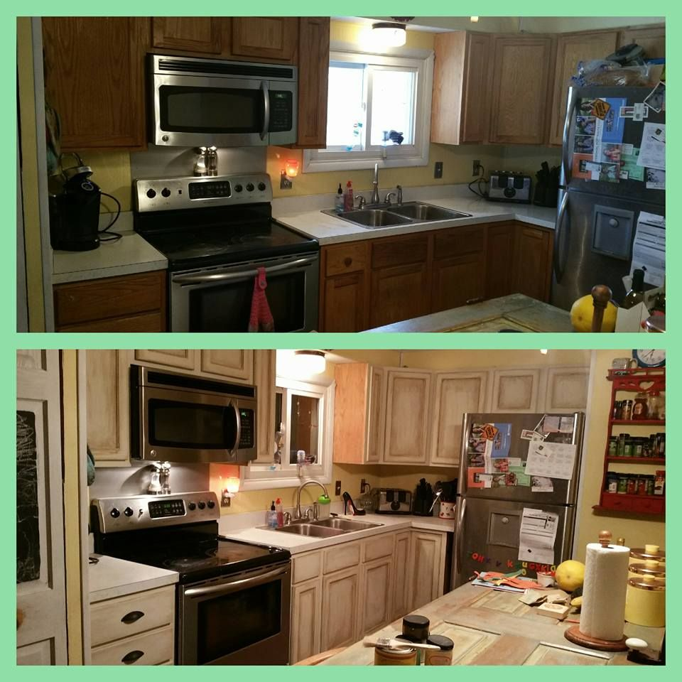 Painting My Kitchen Cabinets Painted My Very Plain Kitchen Cabinets Easy With Dixie Belle