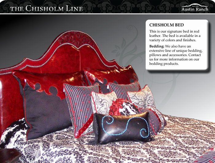 Austin Ranch Chisolm bed