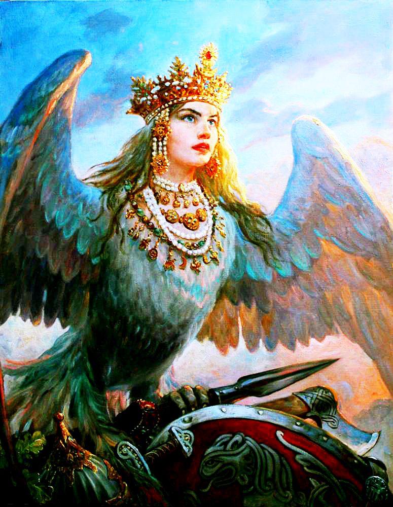 Славянские герои и боги