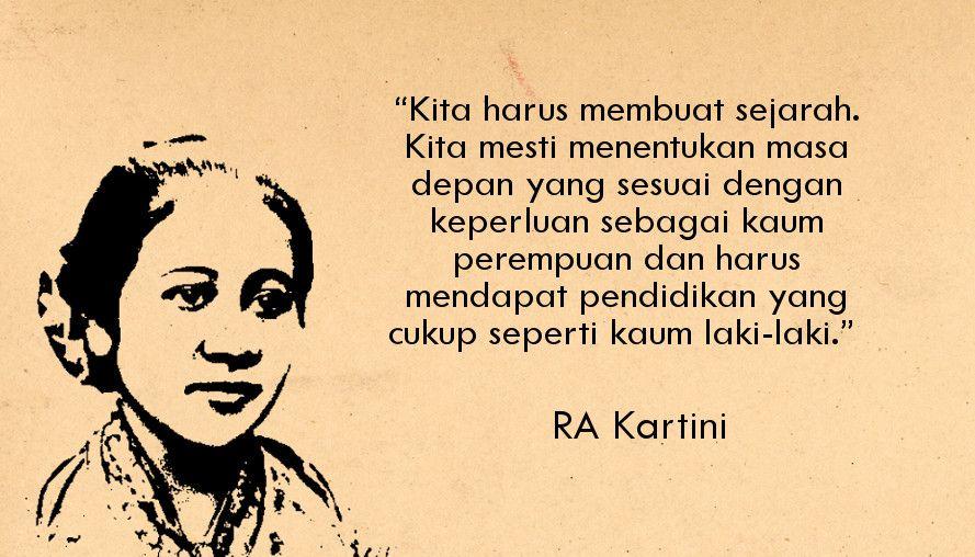 R A Kartini Tokoh Inspiratif Wanita Dan Pejuang Emansipasi Wanita