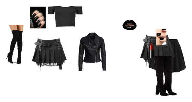 """my funeral wear!!!!"" by mebrink on Polyvore featuring New Look, Anouki and Liliana"