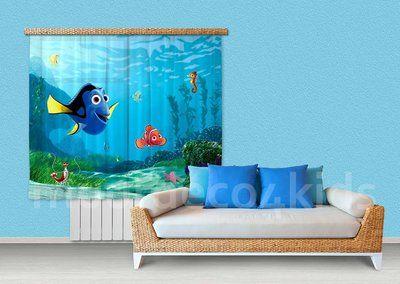 Nemo fotoprint gordijnen, prachtige kwaliteit. Geschikt voor een ...