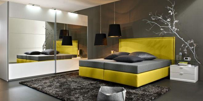 Box Spring Bett   25 Ideen Für Modernes Schlafzimmer Mit Box Spring Bett    FresHouse