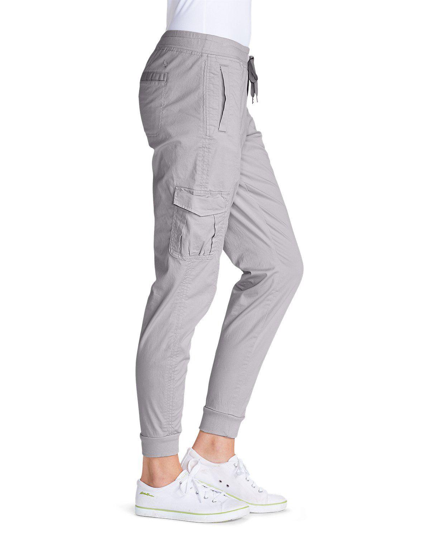 Women's Kick Back Twill Jogger Pants | Eddie Bauer