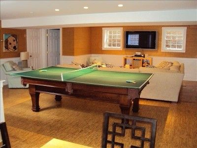Pool Table Ping Pong Table Combo Game Room Decor Game
