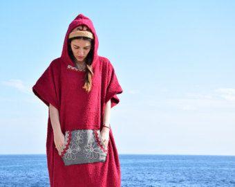 Retro Surf Poncho Towel Google Search Mit Bildern Kleider