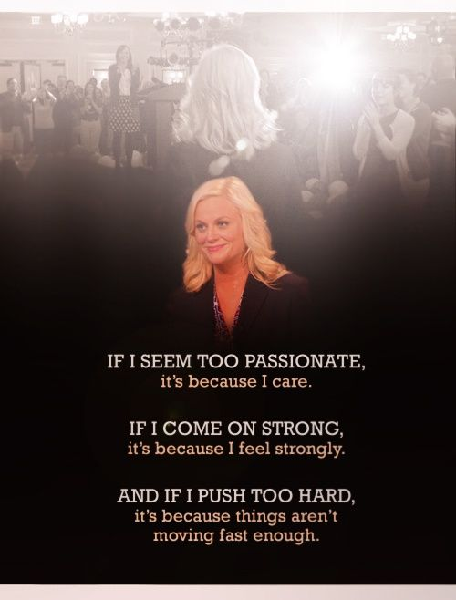 Leslie Knope Quotes | Meet The Real Life Leslie Knope Who Fought The Good Fight And Lost