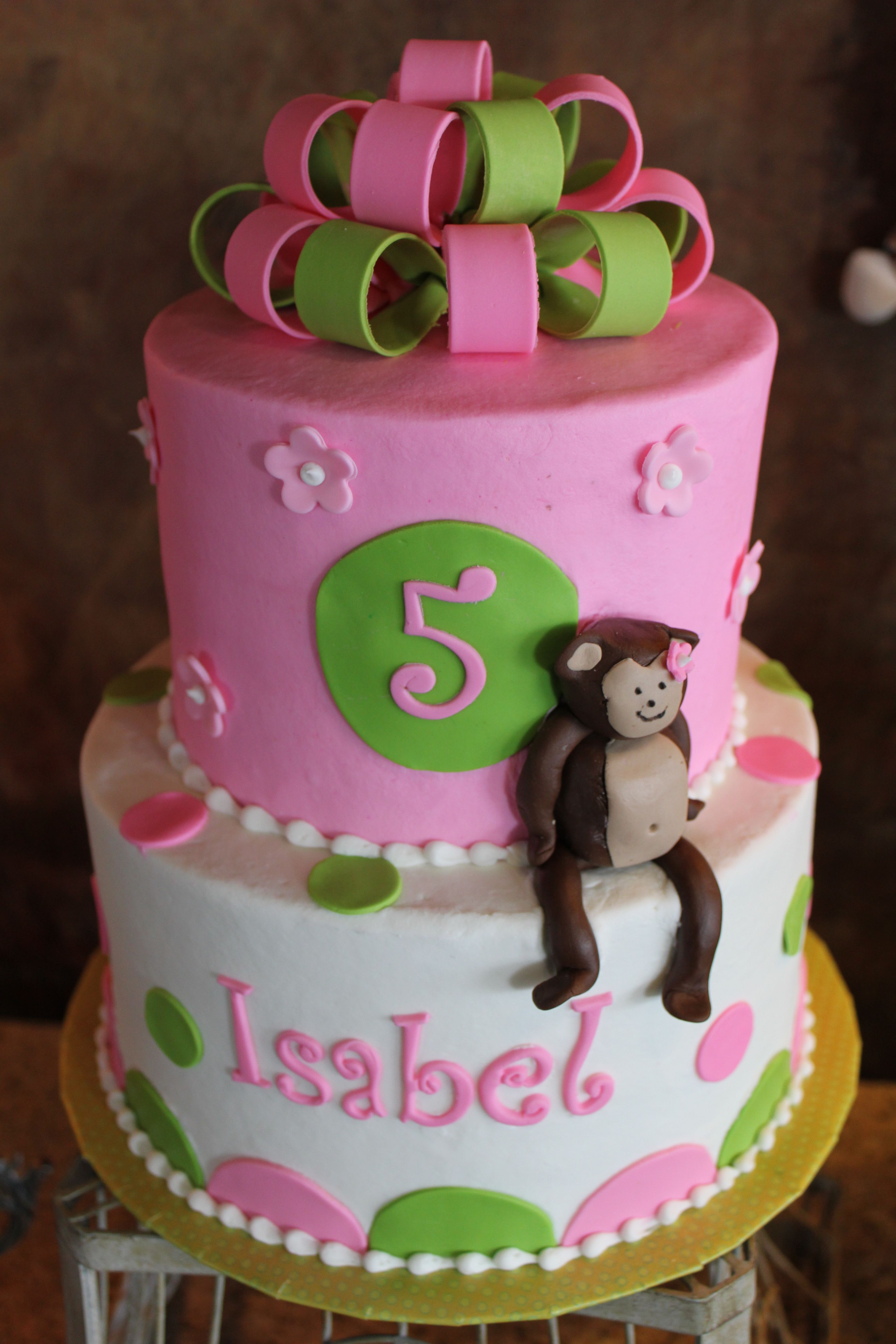 Monkey Cake Just Links To Pic Can Figure Out From Though Cut