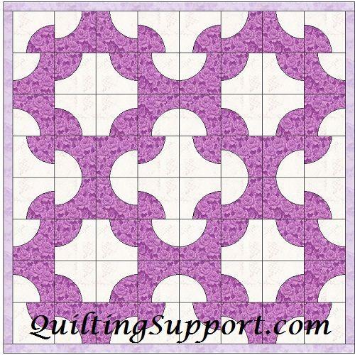 Drunkard Path Template Patterns   Sewing/Quilting/Crochet/Knitting ...