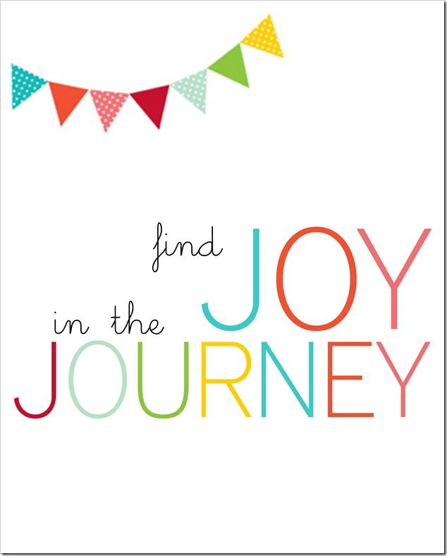 find joy in the journey printable