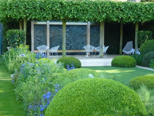 Contemporary Water Features In Formal Garden Design