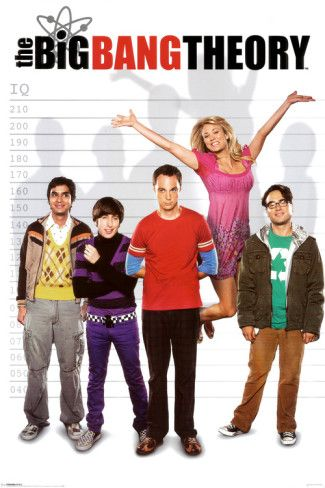 Big Bang Theory Posters from AllPosters.com