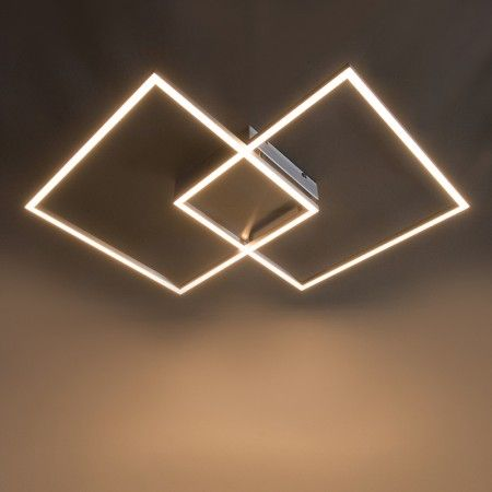 Deckenleuchte Plaza 2 LED Stahl badezimmer Pinterest - badezimmer deckenleuchten led