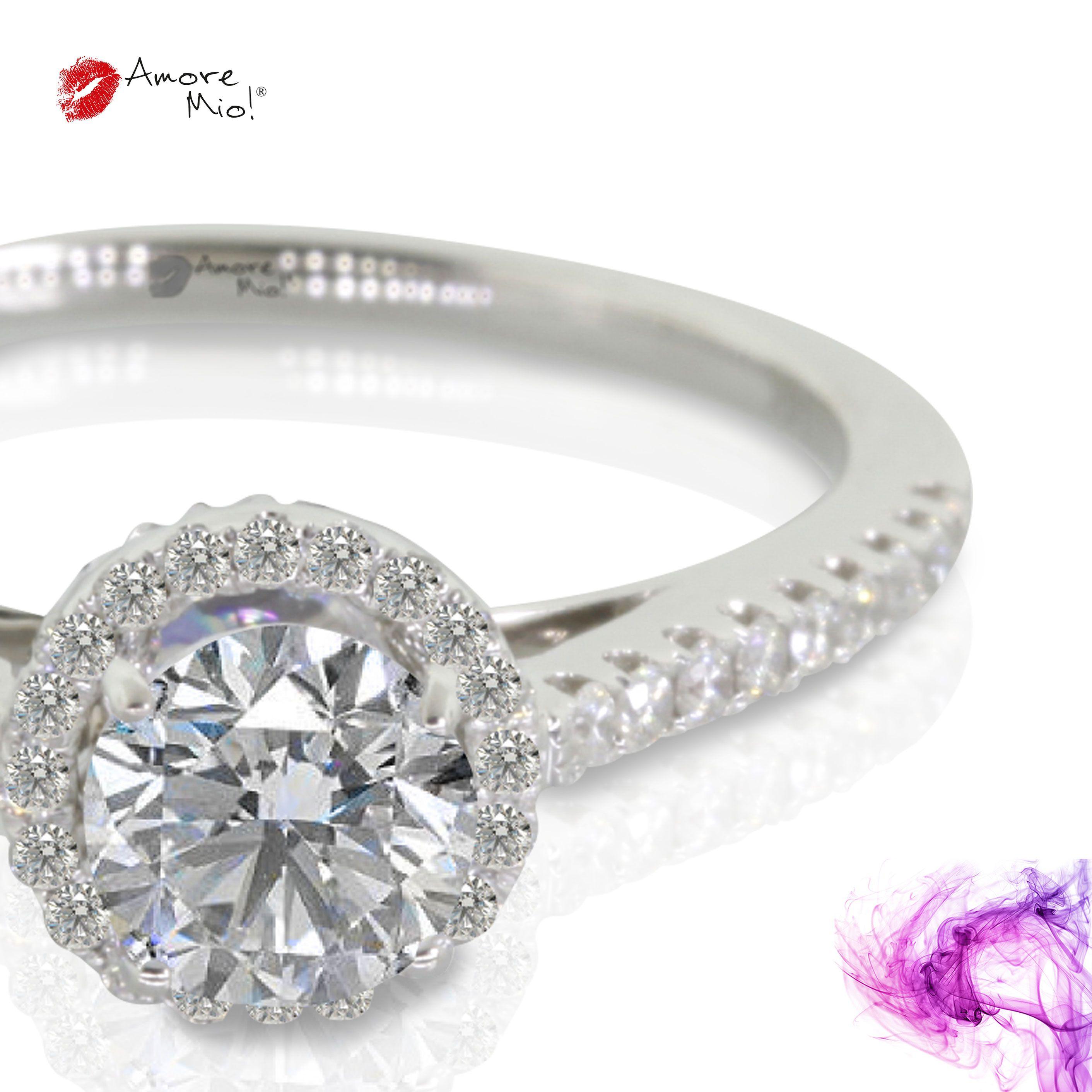 Anillo de oro Blanco 14Kt Modelo: WG1430207 Diamante redondo 0.41 quilates. Color-I Claridad VS2 Laboratorio- GIA, SKU Diamante: 1135736222 Precio: $30,151.33 pesos M.N *Consulte términos y condiciones