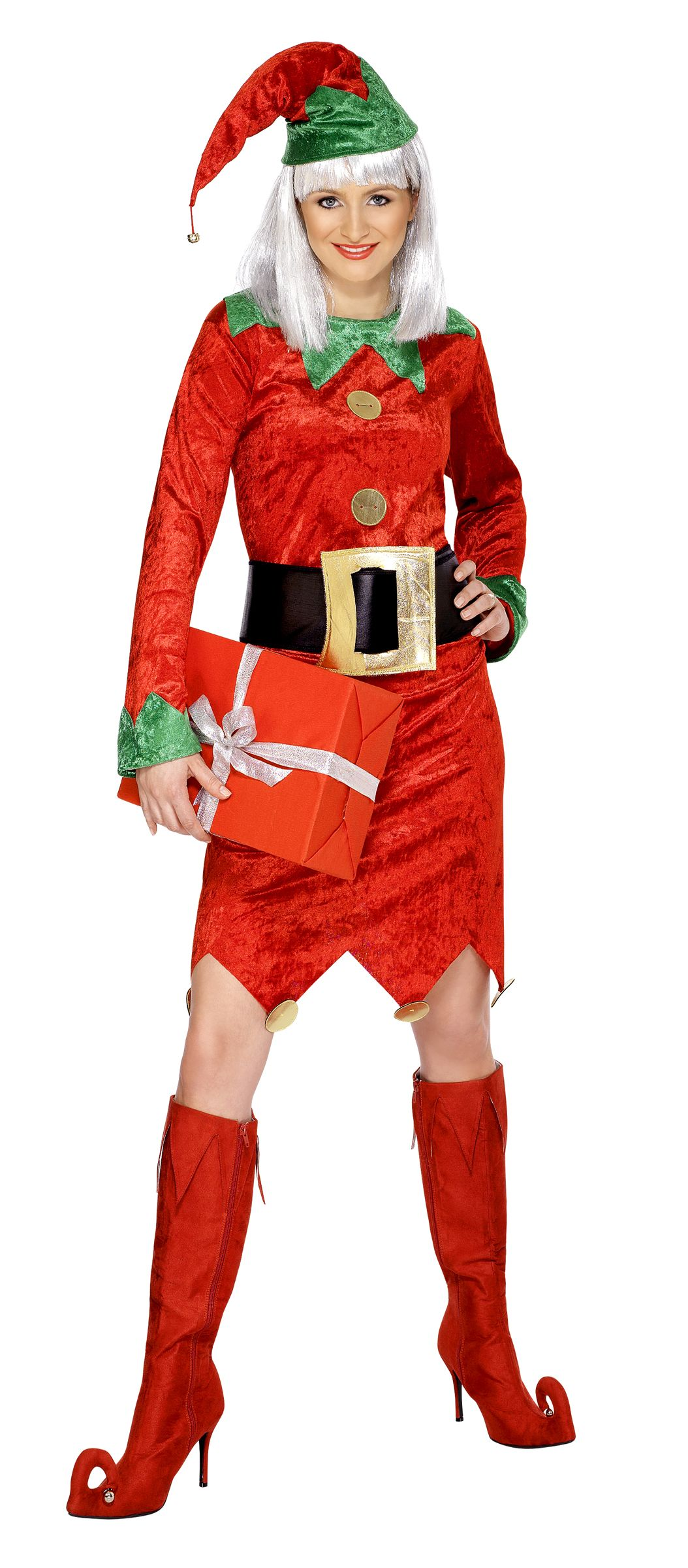 Disfraz de duende de navidad para mujer disfraces elf - Disfraces para navidad ...