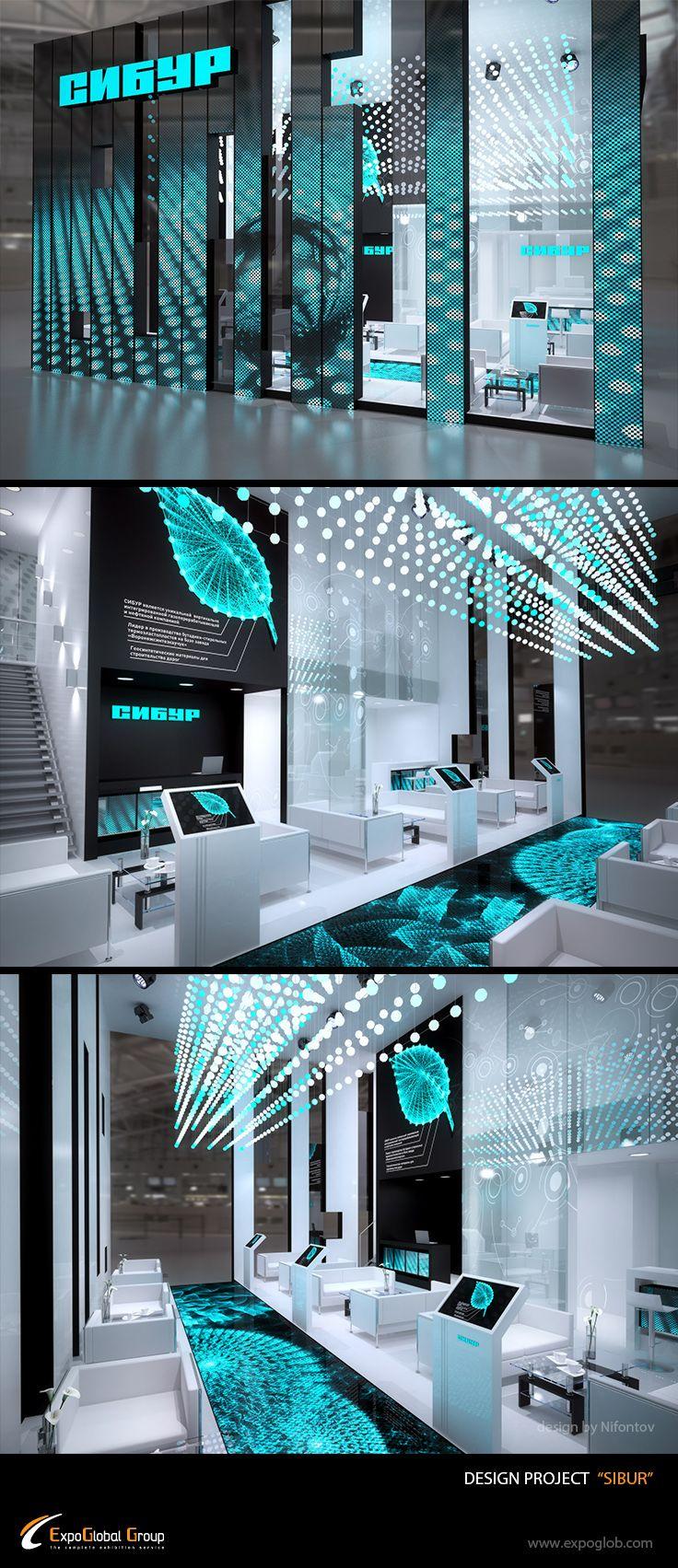 Exhibition Stand Behance : Sibur on behance architecture exhibits pinterest