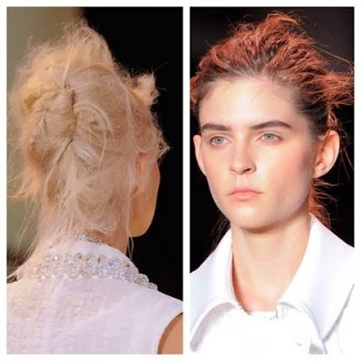 Spring 2014 Hair Changes - Updos