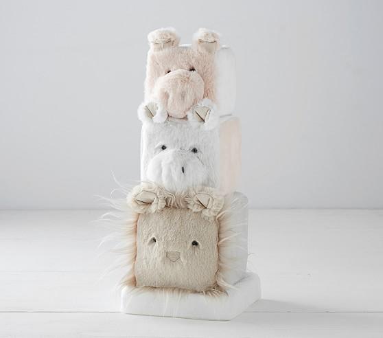 Critter Plush Stacker In 2020 Toddler Gifts Plush Critter