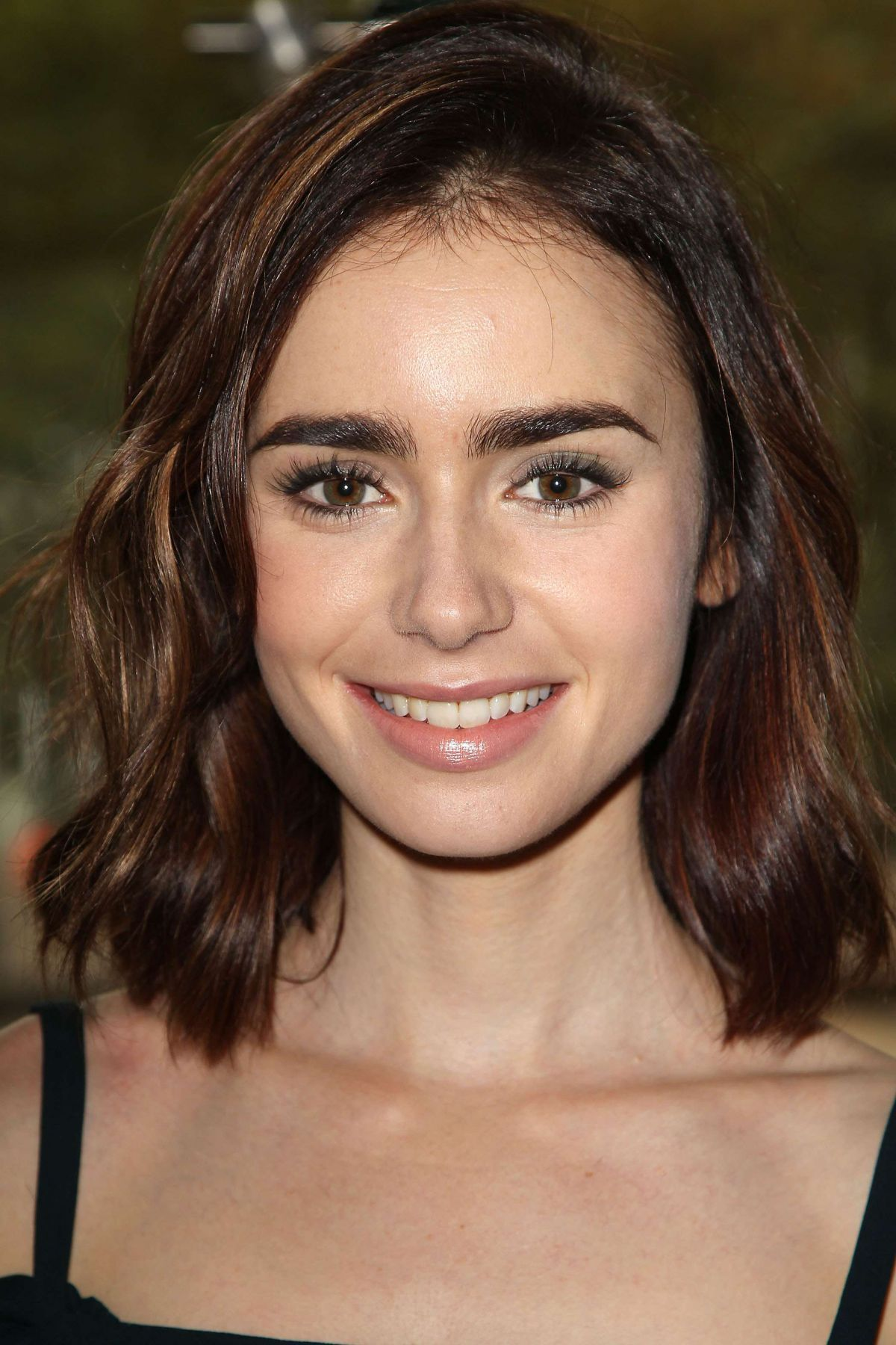 lily collins short hair tutorial