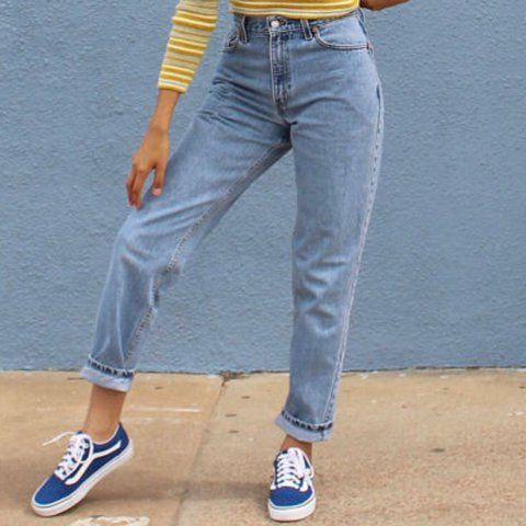 1fb560d2 Vintage LEVI'S 550 Red Tab High Waisted Denim Mom Jeans 🌹 in perfect  condition. Classic relaxed, tapered leg fit. 100% cotton. Last photos shows  an example ...