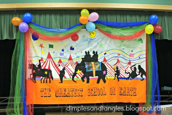 Dimples and Tangles: SCHOOL FUN FAIR/CARNIVAL DECORATIONS