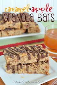 Inside BruCrew Life: Caramel Apple Granola Bars