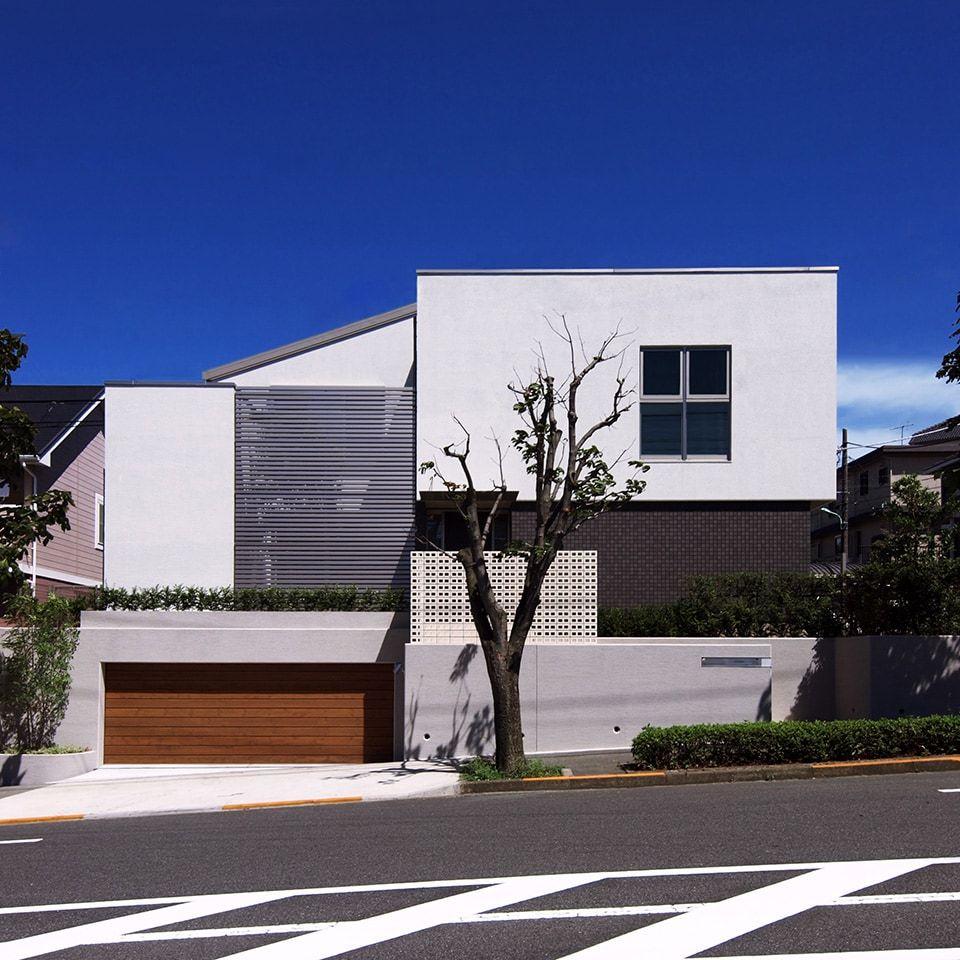 建築実例 つくし野の家 デザイナーズ住宅 建築家と建てるなら ミサワデザイナーズギャラリー 住宅のミサワホーム 2020 デザイナーズ住宅 住宅 建築家