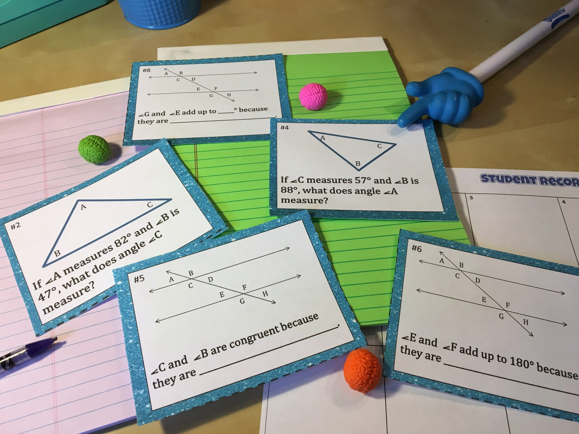 12 Activities To Make Teaching Parallel Lines Cut By A Transversal Memorable