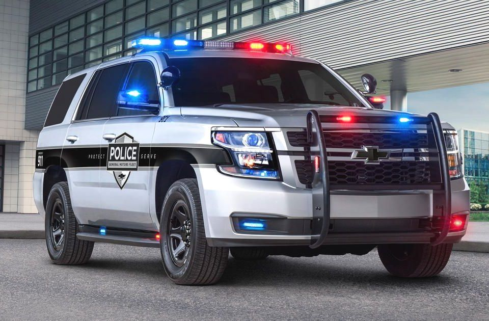 Chevy Tahoe Becomes First Pursuit Rated Police Car With