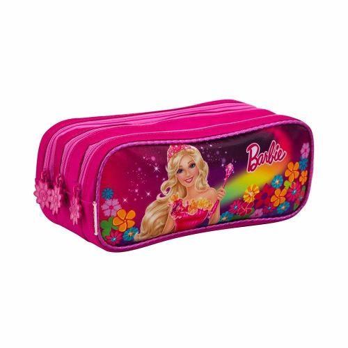 Estojo 3 Divisórias Barbie Portal Secreto Rosa Sestini - R  74,99 no Mercado  Livre. d1c7381262