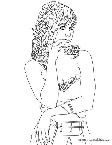 katy perry coloring page more katy perry content on hellokidscom - Hellokids Com Coloring Pages