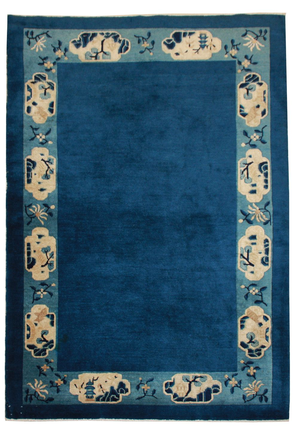 Cod. 913 Pechino antico tappeto cinese antique rug