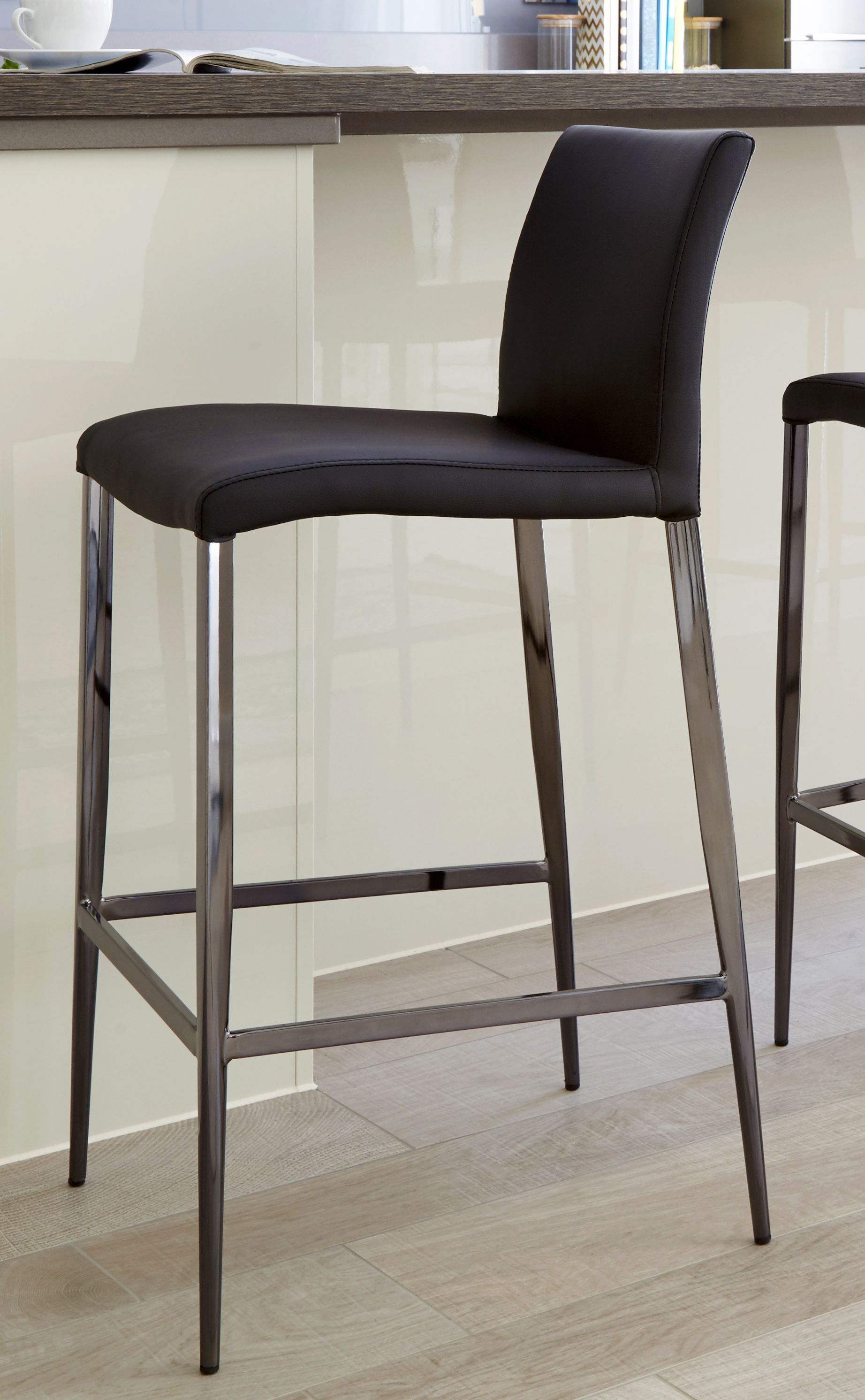 Tremendous Elise Black Chrome Bar Stool Barstools In 2019 Bar Ocoug Best Dining Table And Chair Ideas Images Ocougorg