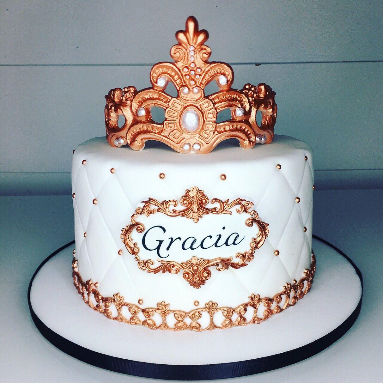Beautiful royal princess cake made by liliana da silva