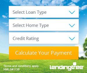 LendingTree Mortgage DropDowns