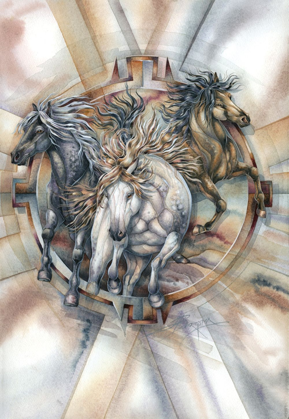 """Freedom's Dream"" par Jody Bergsma"