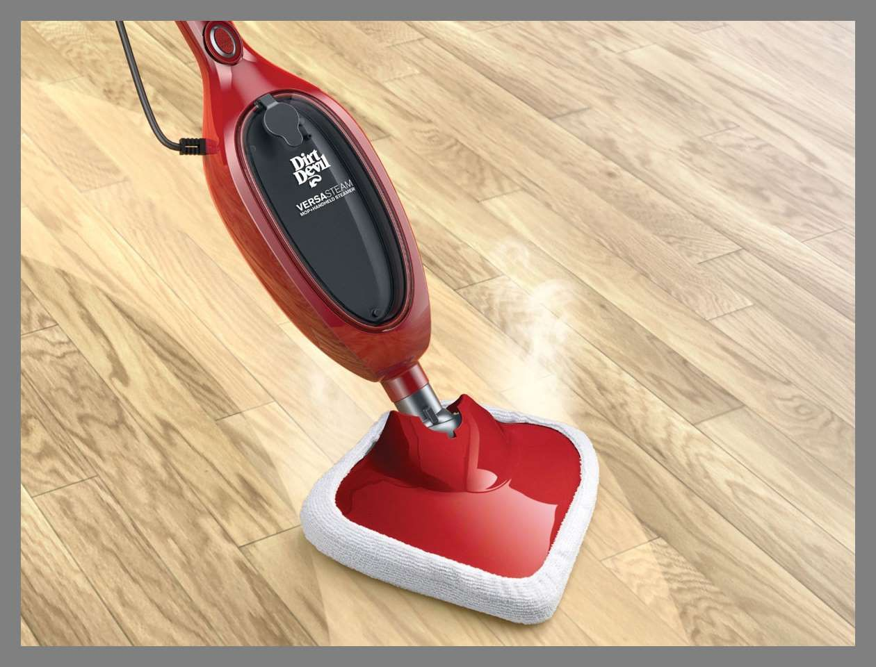 Get Sparkling Clean Floors With This 2 In One Steam Mop It Detaches