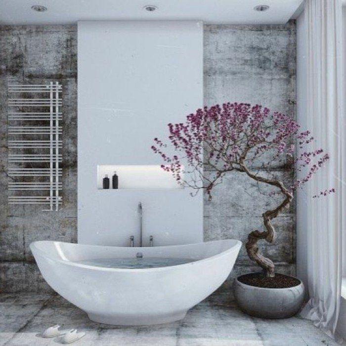 Comment créer une salle de bain zen? Feng shui, Bathtub and Interiors