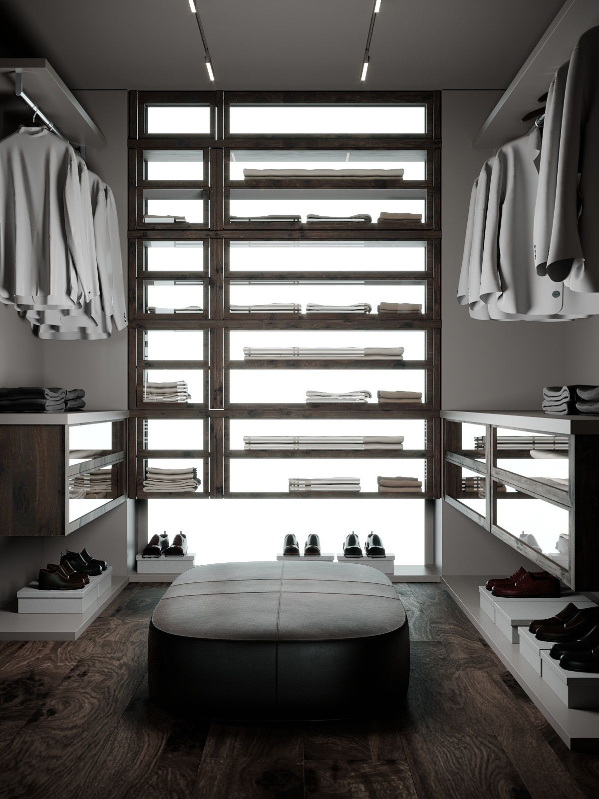 Ideas Of Functional And Practical Walk In Closet For Home: 40 Walk In Wardrobes That Will Give You Deep Closet Envy