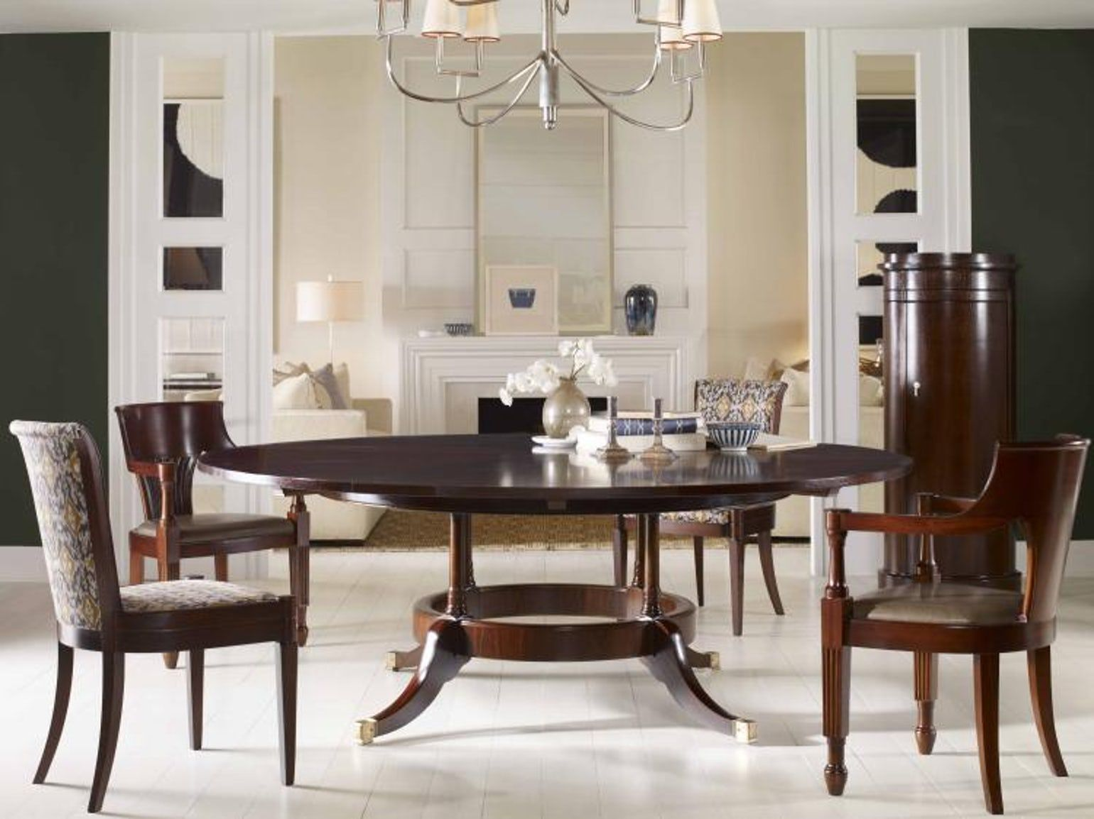 Chandler telescoping table traditional tables elle