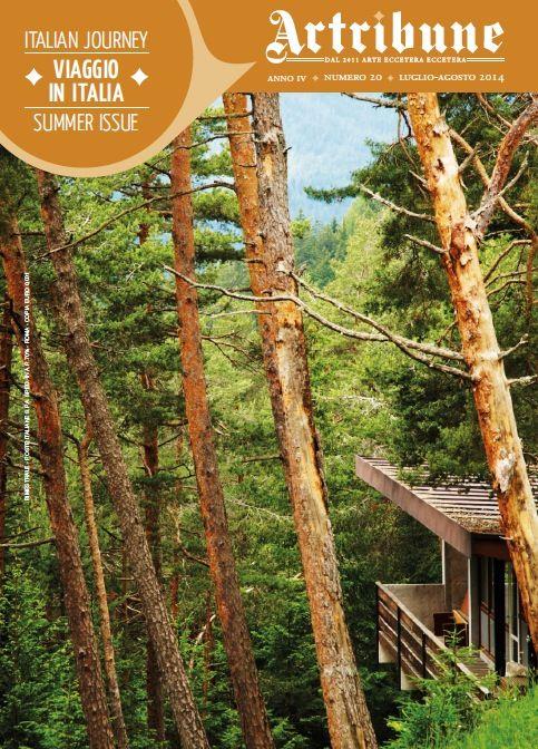 """Numero estivo bilingue per Artribune Magazine. Un particolarissimo """"Viaggio in Italia"""", guidati da firme d'eccezione…  www.artribune.com/2014/07/artribune-magazine-20/"""