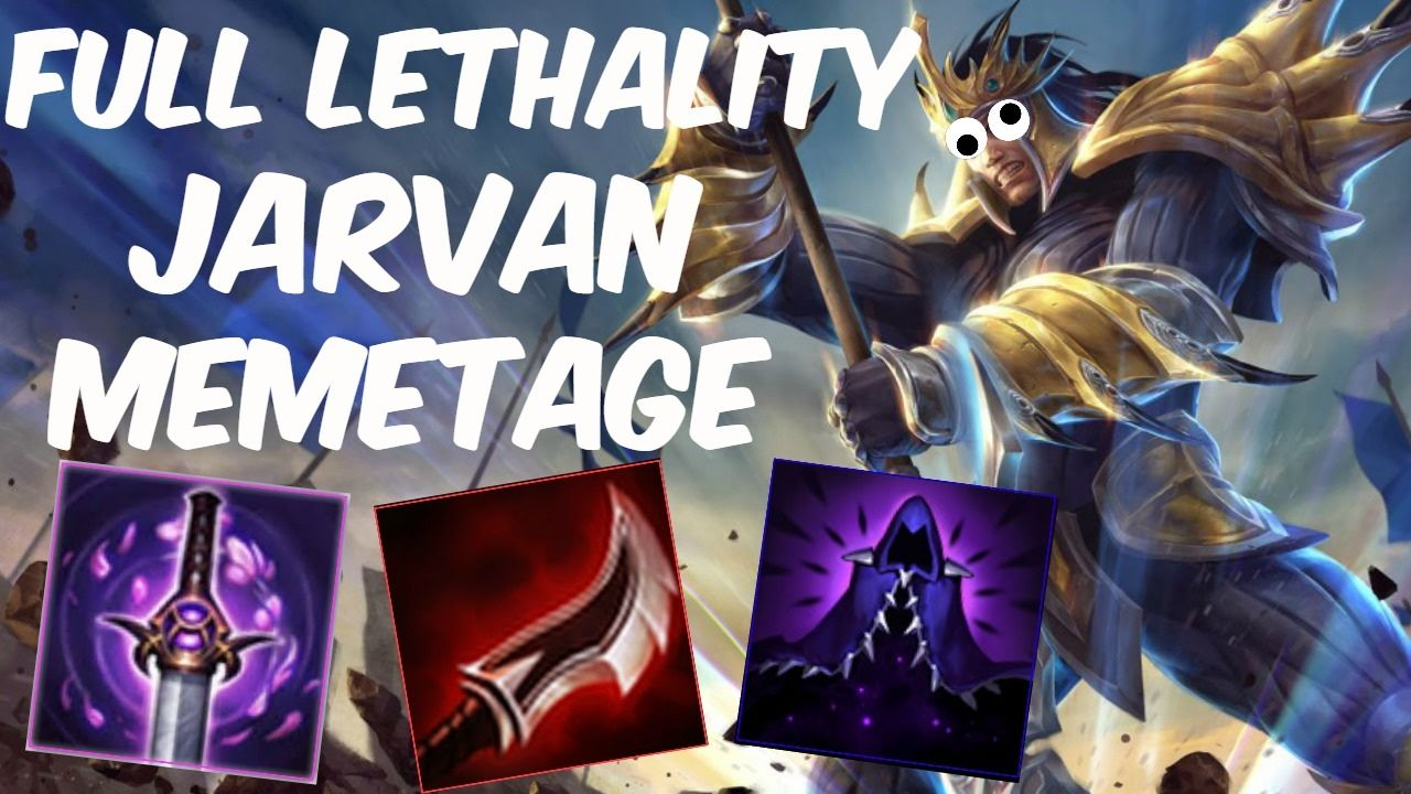 Full AD Jarvan Memetage https://www.youtube.com/watch?v=scVeY33oRW4 #games #LeagueOfLegends #esports #lol #riot #Worlds #gaming