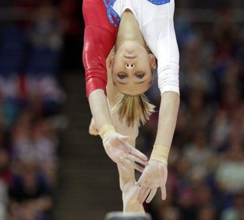 Viktoria Komova at the 2012 Lonodn Olympic games