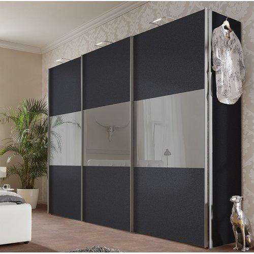 Ebern Designs Mueller 3 Door Sliding Wardrobe Wayfair Co Uk Sliding Wardrobe Doors Sliding Wardrobe Wardrobe Door Designs