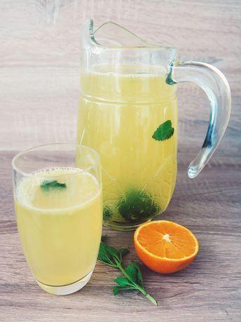 Gesunde Limonade selber machen mit Orangen und Zitronen ohne weißen Zucker ohne Aspartam oder sonstige Süßstoffe Einfaches Rezept mit Bildern Source by w...