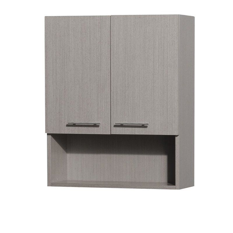 Wyndham Collection Wcv207 Centra Wall Mount Bathroom Cabinet With
