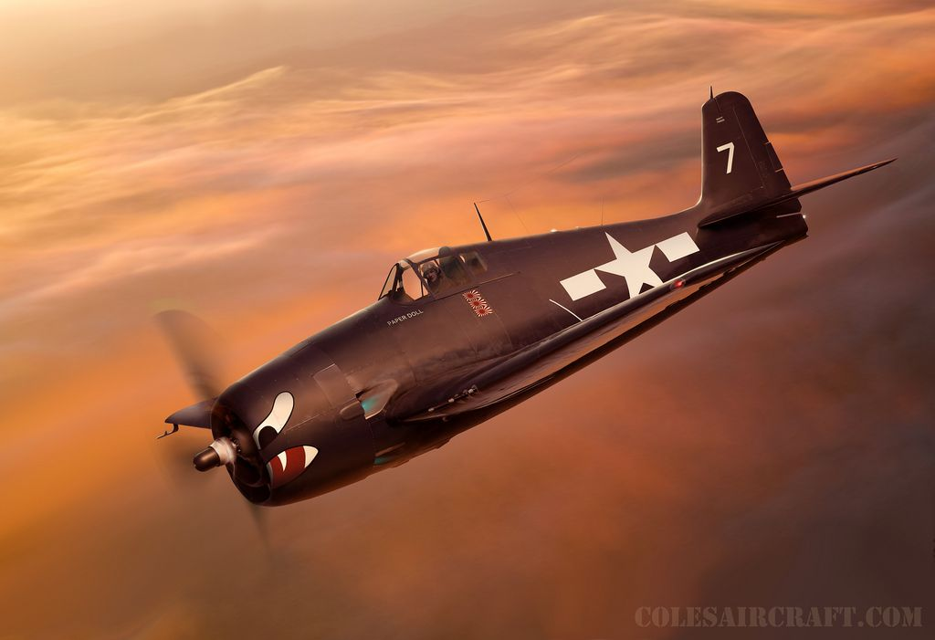 F6F3/5 Hellcat USS Princeton, by Ron Cole   by ColesAircraft